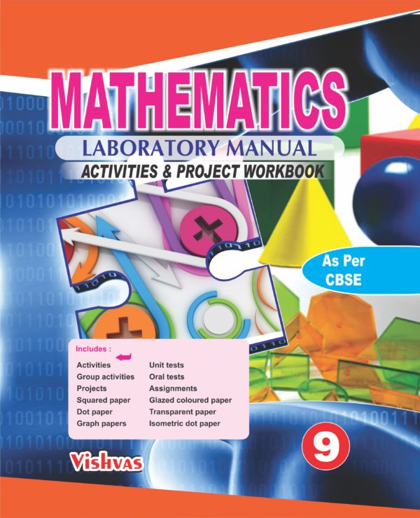 MATHEMATICS LAB MANUAL CLASS-IX-VISHVASBOOKS