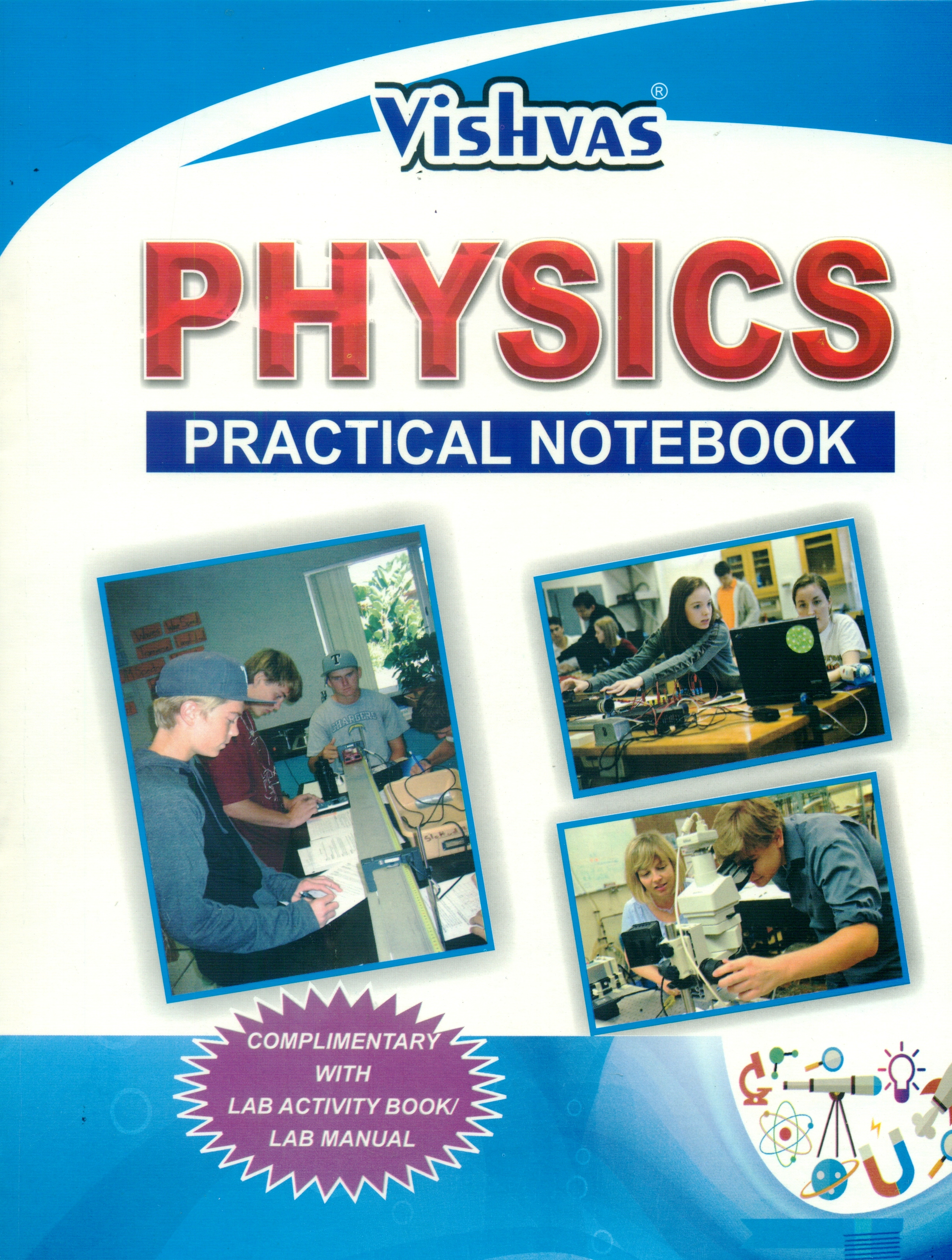 CBSE-2019-PHYSICS LAB ACTIVITY BOOK ,Class-XI,(With Practical Related  Information) (PAPERBACK)-With Free practical Notebook Set of 3 books,  Revised