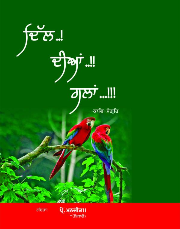 Dil Diyan Galan (Punjabi Poetry) By Prof.Manjit Chicago
