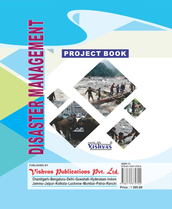 DISASTER MANAGEMENT PROJECT BOOK, X,As per latest syllabus issued by CBSE-