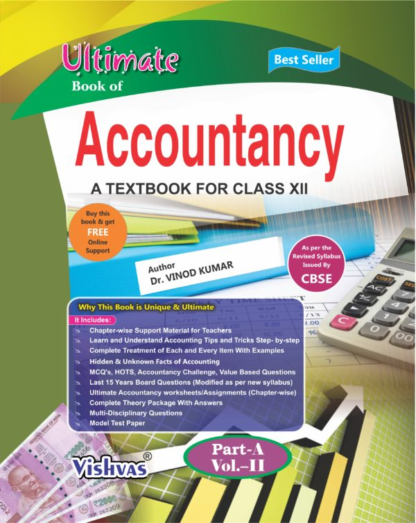 Ultimate Book Of Accountancy-Class-XII- Part-A-Volume-2