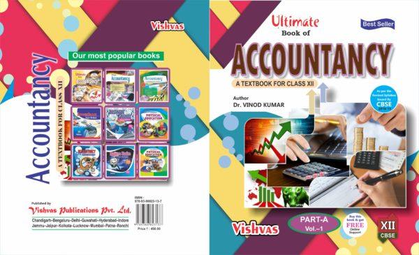 Ultimate Book of Accountancy Part-A-volume-1-CBSE-2018-VISHVASBOOKS