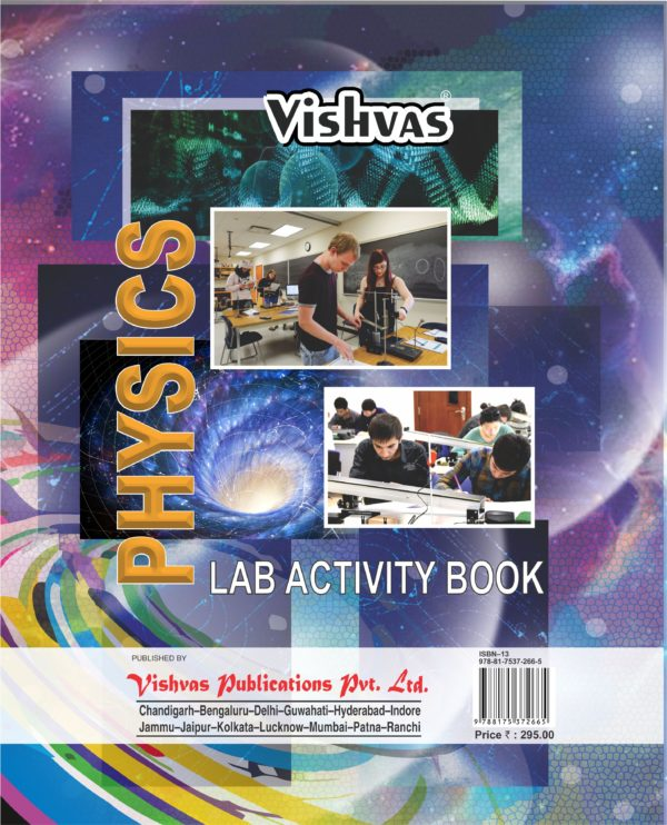 PHYSICS LAB ACTIVITY BOOK ,10+2