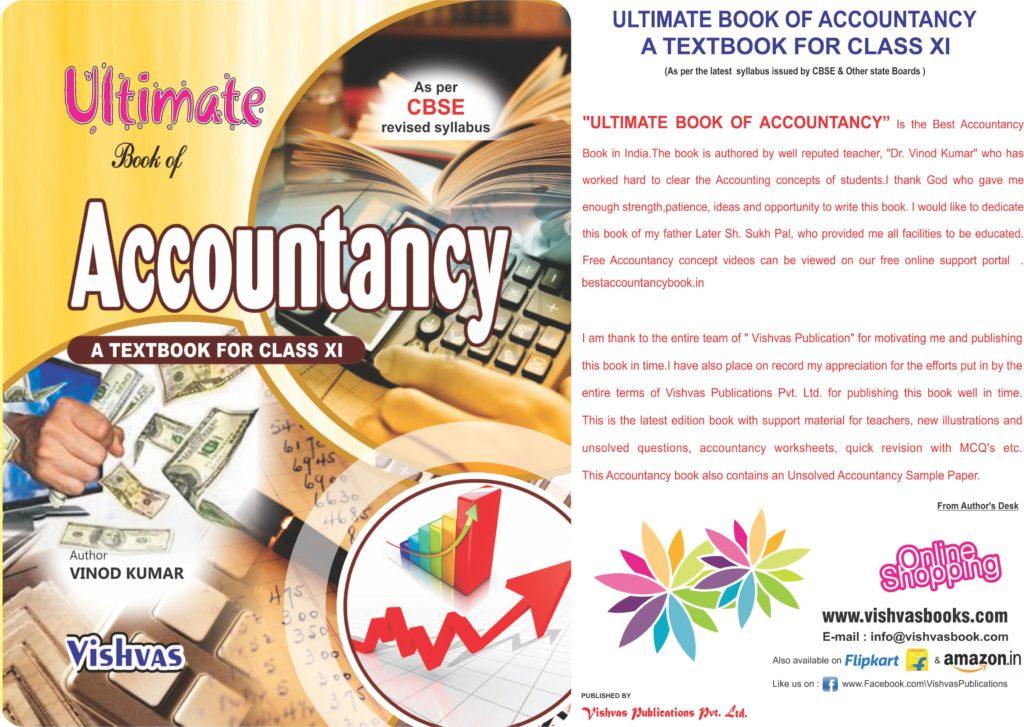 Ultimate Book of Accountancy Class-XI
