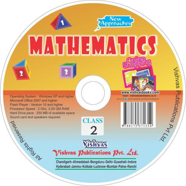 MATHEMATICS EDUCATIONAL BOOK Class 2-CD-vishvasbooks
