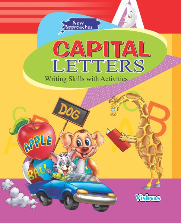CAPITAL LETTERS-ABC (Writing Skills with Activities)-vishvasbooks